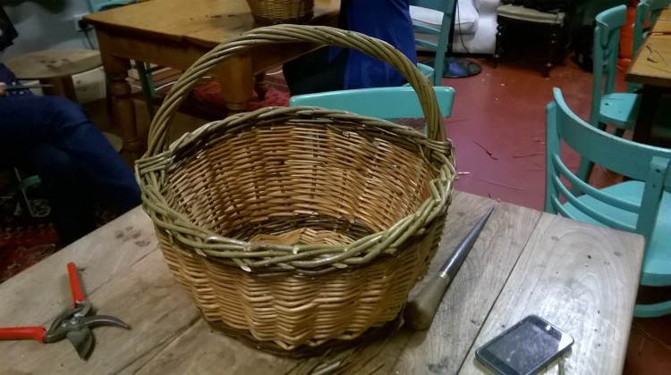 Basket Making; the finished article