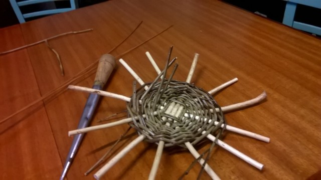 Basket Making; the base