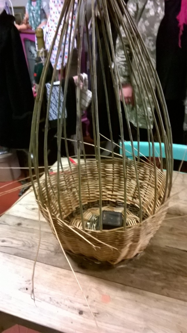 Basket Making; making the bucket