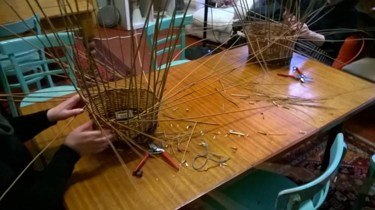 Basket Making; fellow basketmakers