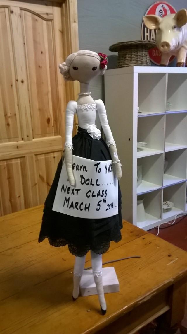 Tinahely Farm; doll making