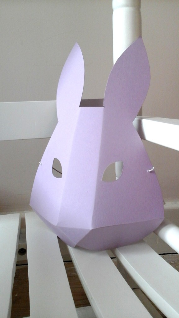DIY Bunny Mask