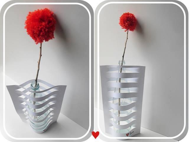 Simple Paper Vase Living Lightly In Ireland