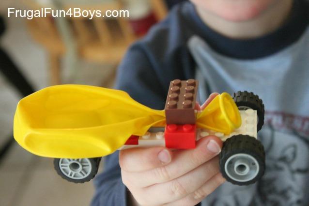 balloon lego car