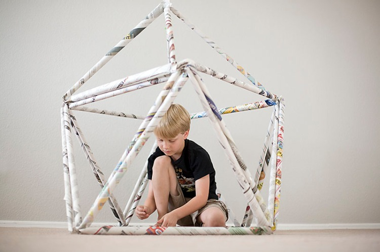 paper fort