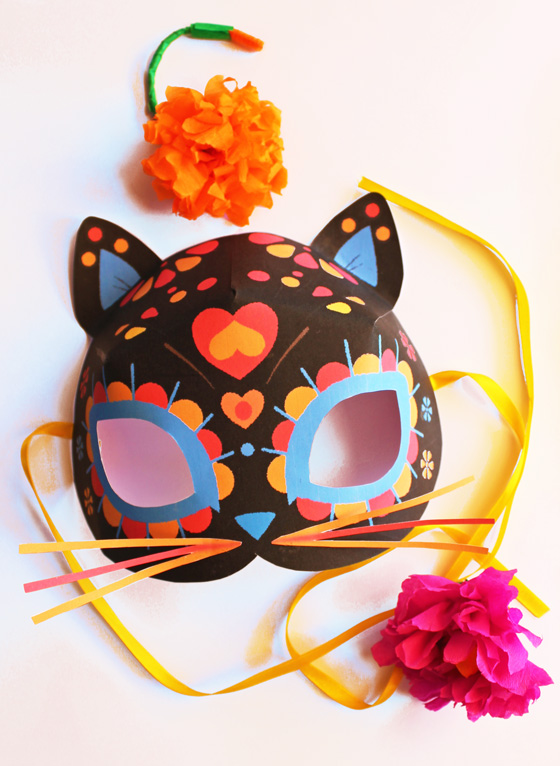 Dead of the dead cat mask