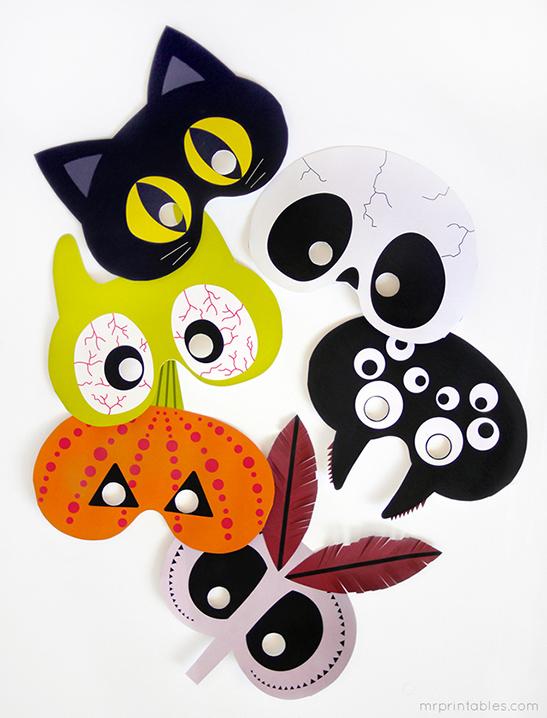 Hallowe'en masks for kids