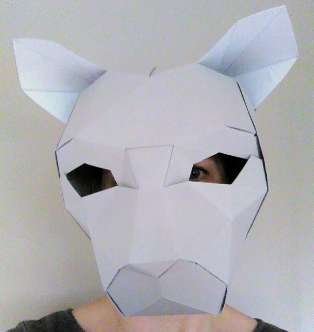 Halloween Paper Masks For Adults