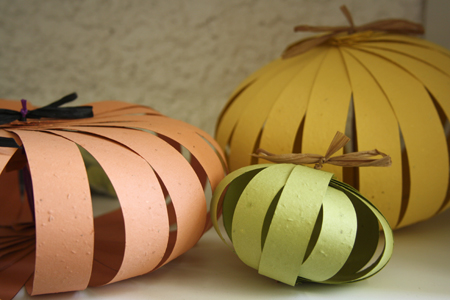 plantable pumpkin decorations
