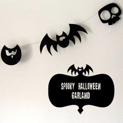 Zero Waste Halloween Decoration
