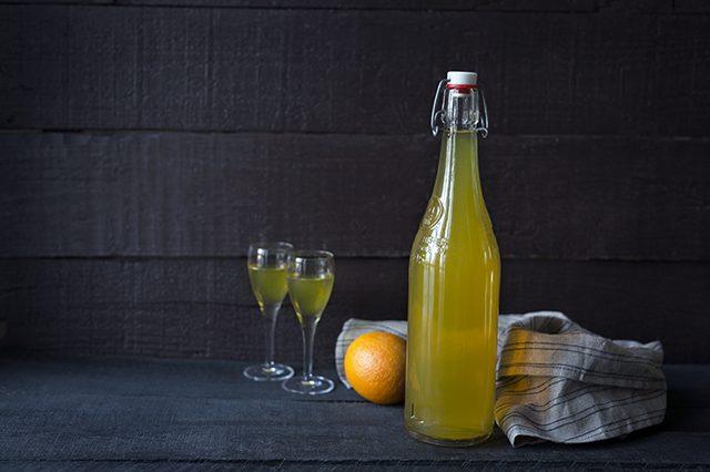 Homemade Orange Liquer