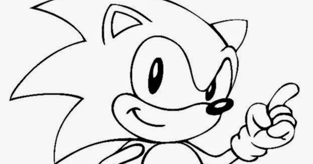 Sonic the hedgehog template
