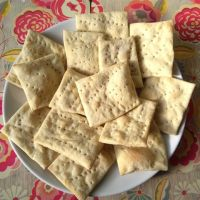 Homemade Crackers - Updated 12th April  2017