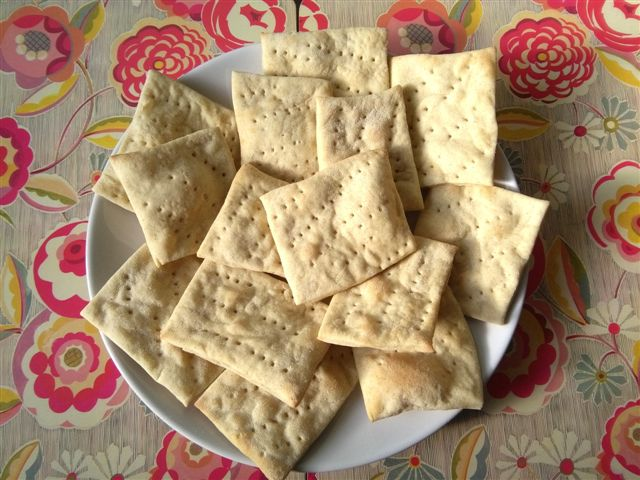 homemade crackers