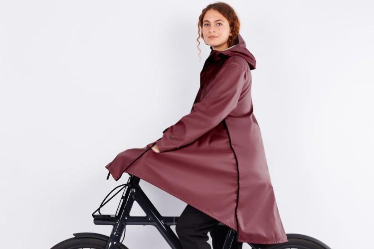 eco bicycle coat