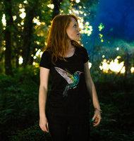 Rapuni hummingbird tshirt