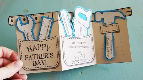 Fathers Day Tool Card