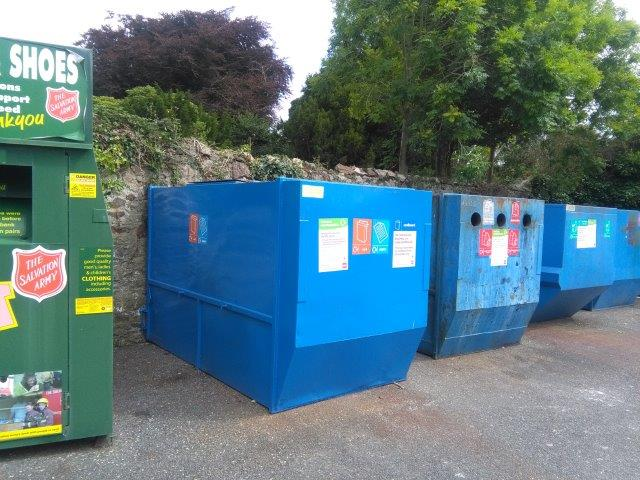 recycling bank in St Austell