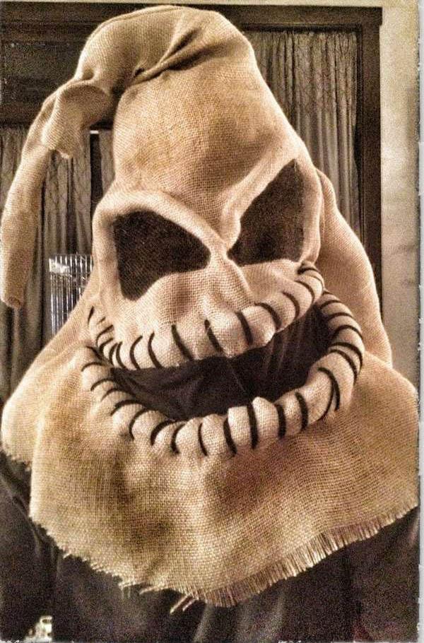 Hessian / Burlap Sack Mask