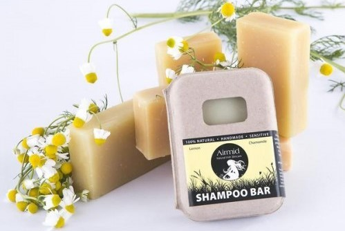 Airmid Lemon and Chamomile Shampoo Bar