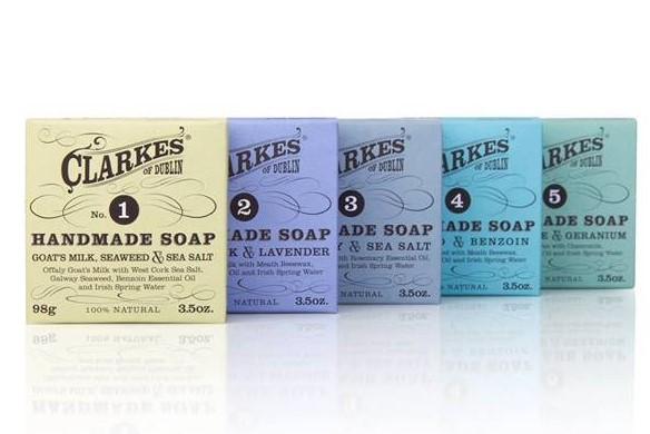 Clarkes of Dublin Handmade Soaps