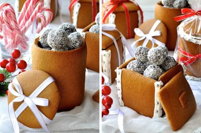 Gingerbread Boxes and Mason Jars