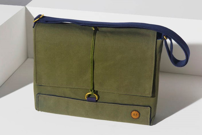 Canvas Satchel from the Atlantic Equipment Project