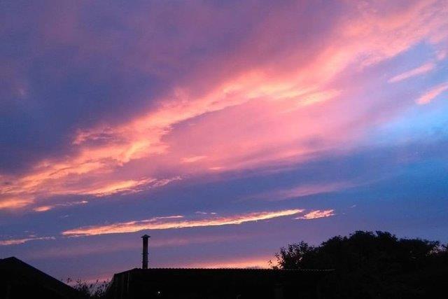 Evening Sky in Clare