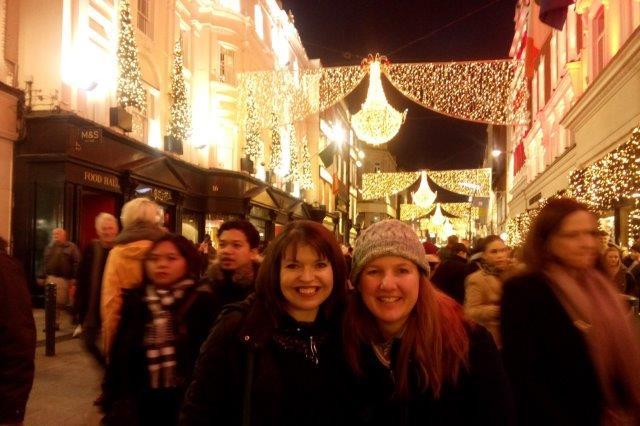 Grafton St at Christmas