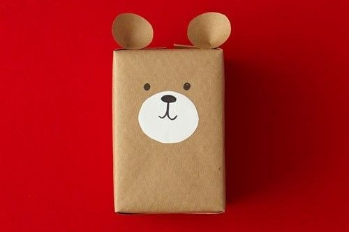 Teddy Bear Gift Wrap