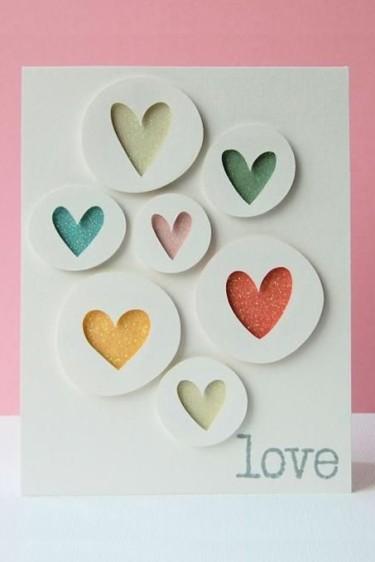 Heart Silhouette Card