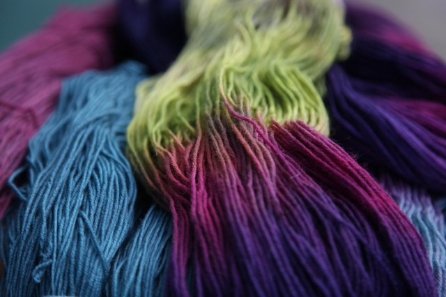 Dyed Yarns