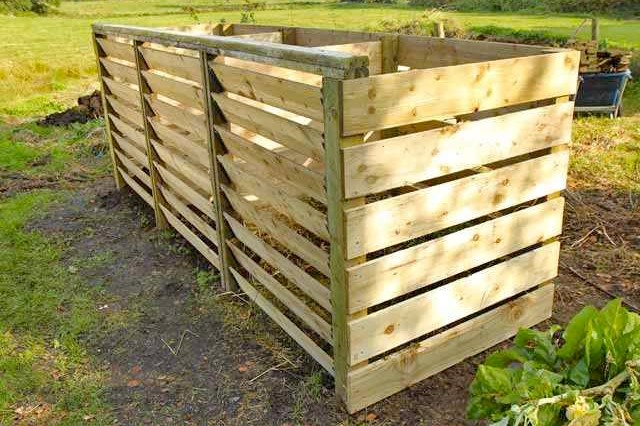 Timber Compost Bin