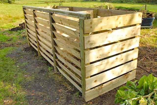 Timber Compost Bin