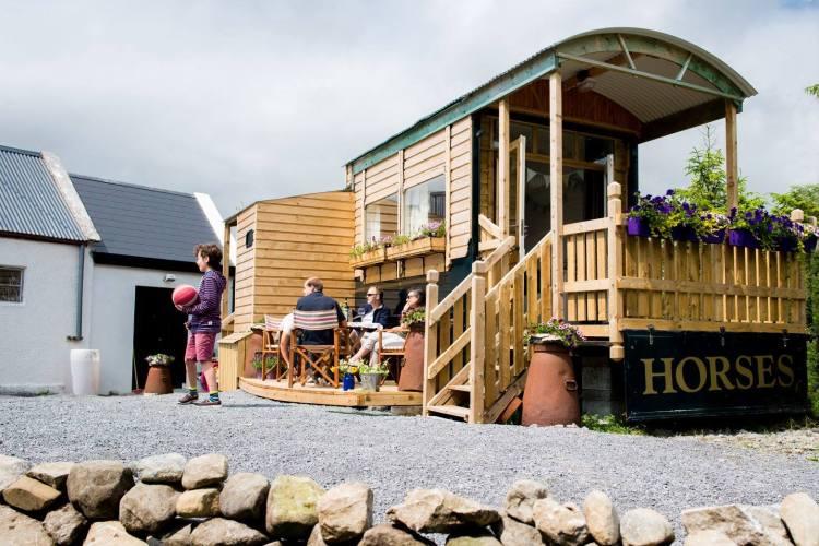 eco cabin in the Burren