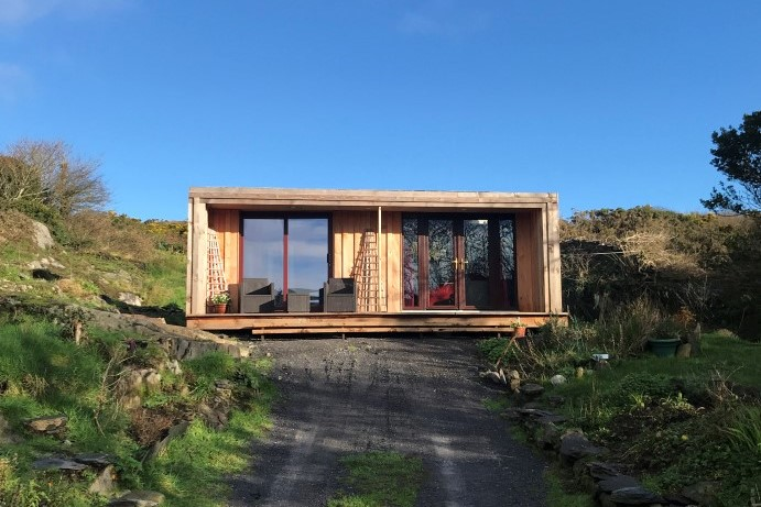 eco cabin in West Cork
