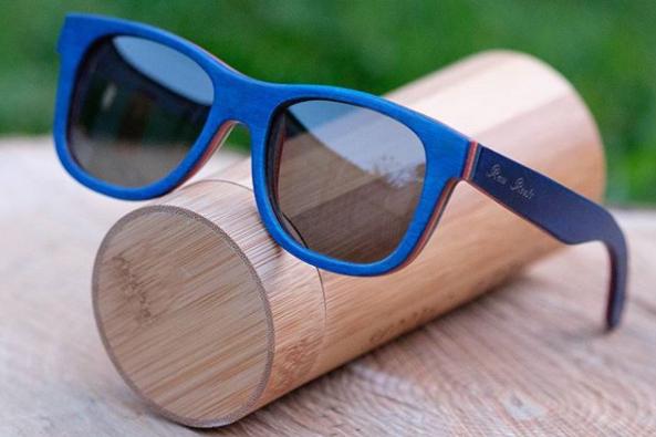 wooden sandglasses