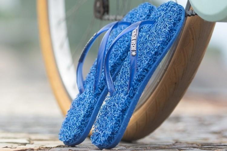 recycled flip flops