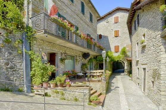 Village tourism in Italy