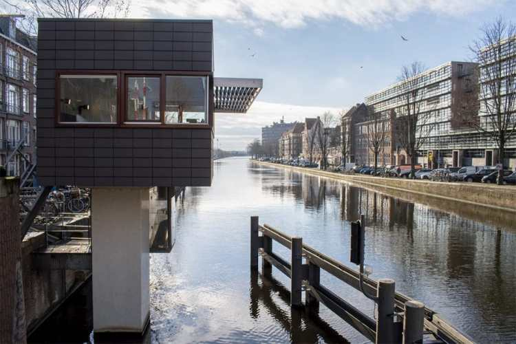 quirky eco accommodation in Amsterdam