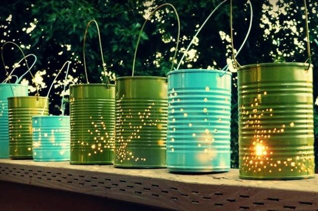 Tin Can Laterns