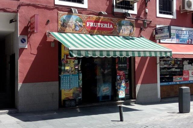 exterior view of store