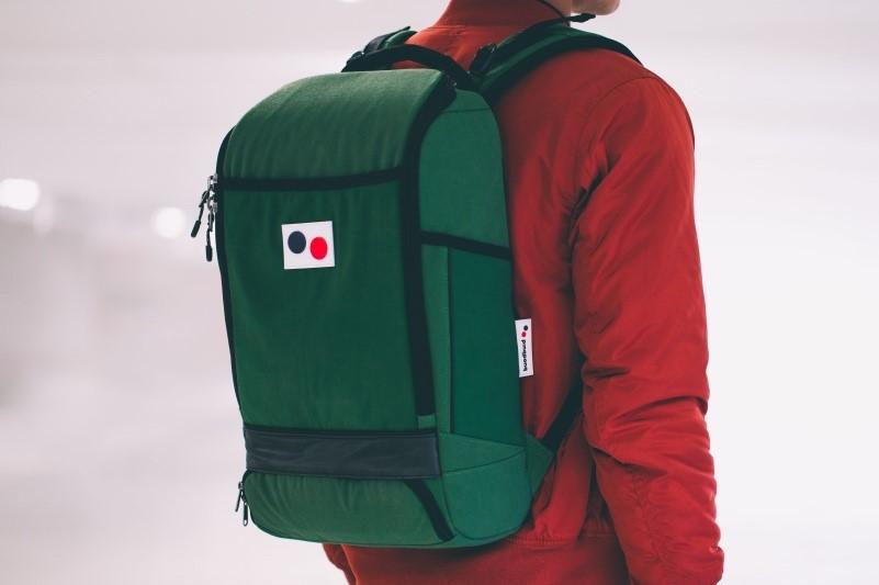 man wearing backpack