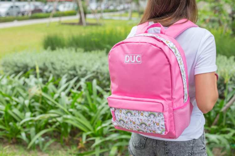 recycled Irish backpacks