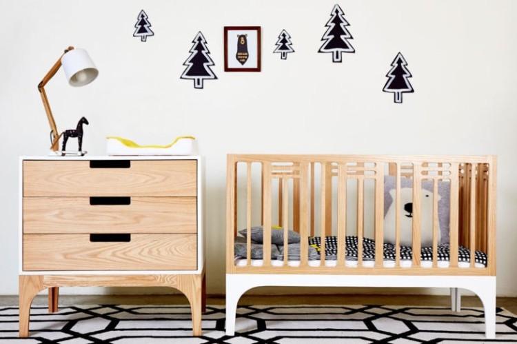 eco toxin-free nursery cot