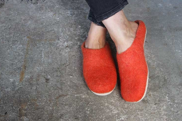 sustainable ethical slippers
