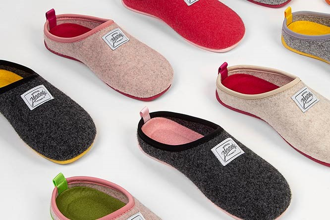 recycled slippers