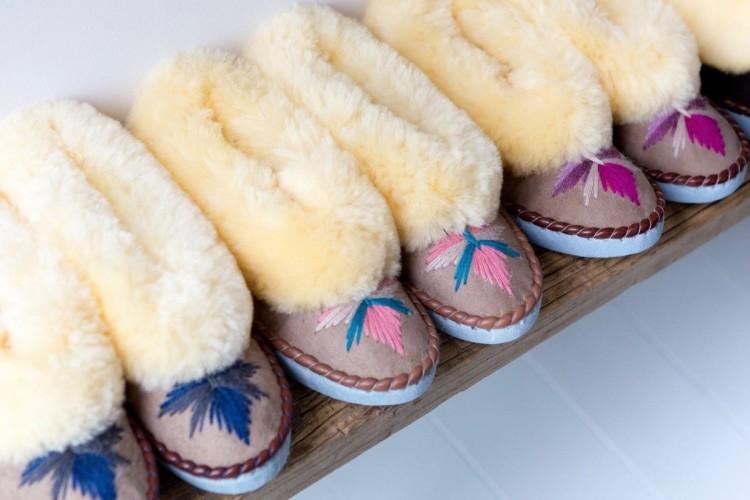 British Sheepskin Slippers