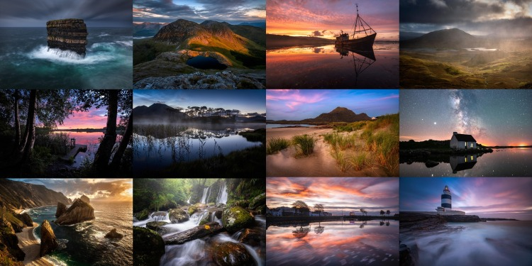 Irish landscape Calendar 2021
