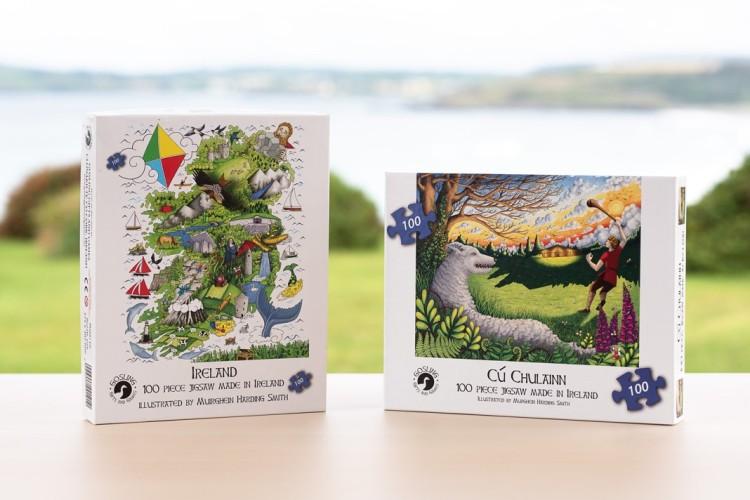 Irish made games and puzzles